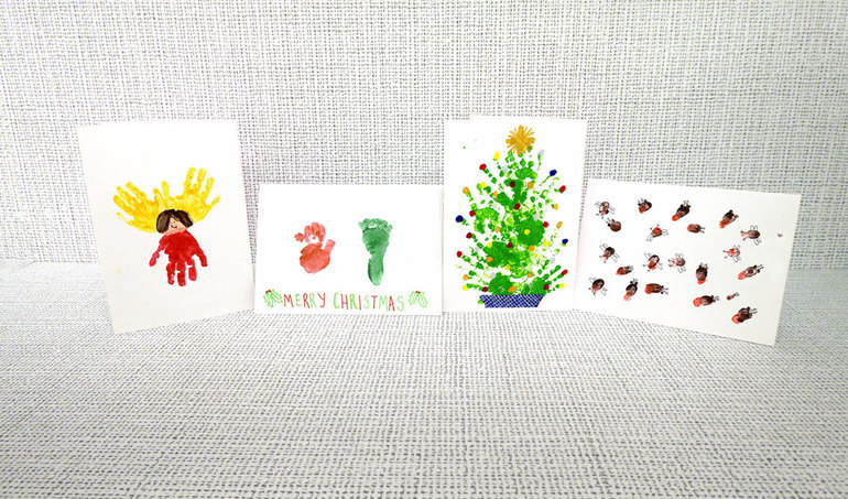 Preschool Christmas Card ideas 1