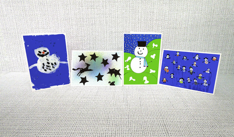 Infant Christmas Card ideas 1